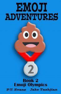 Featured Book: Emoji Adventures Volume 2 Emoji Olympics by PT Evans