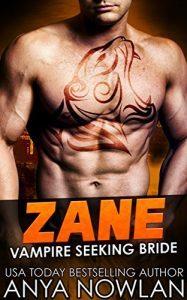 Featured Book: Zane by Anya Nowlan