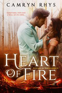 Featured Book: Heart of Fire by Camryn Rhys
