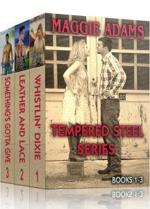 Featured Book: Tempered Steel Series by Maggie Adams