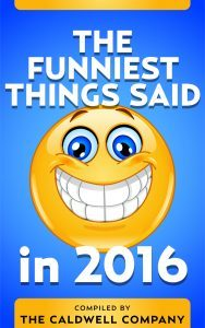Featured Book: The Funniest Things Said in 2016 by Jefferson George