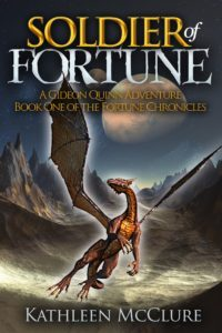 Featured Book: Soldier of Fortune: A Gideon Quinn Adventure by Kathleen McClure