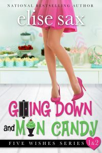 Featured Book: Going Down and Man Candy by Elise Sax